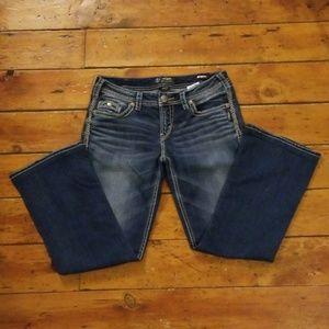 Silver Jeans Aiko Mid Boot Size 30W/31L EUC